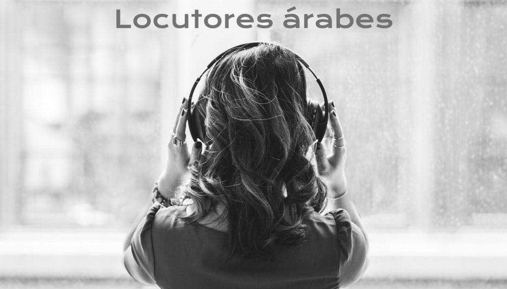 Locutores árabes