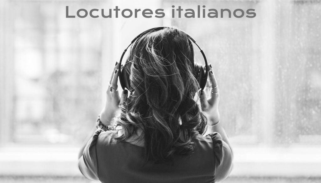 Italian voiceovers